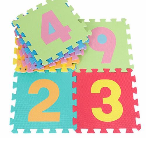 Alphabet and Number Interlocking 36 Piece Foam Puzzle Mat Age 3+