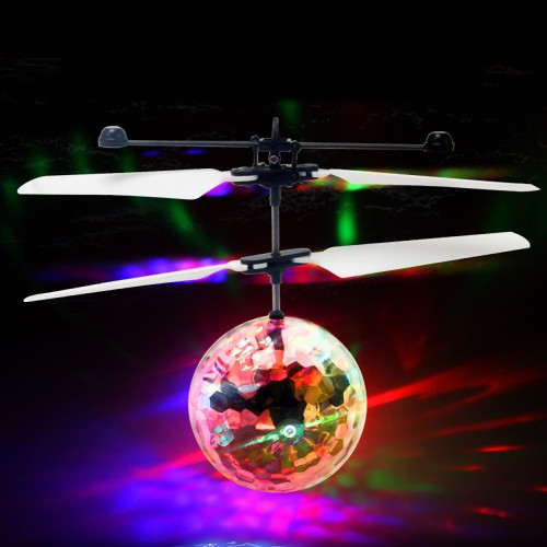 Flying Crystal Ball Drone with LED Lighting Age 5+