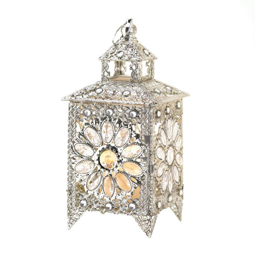 Crown Jewels Tabletop Candle Lantern