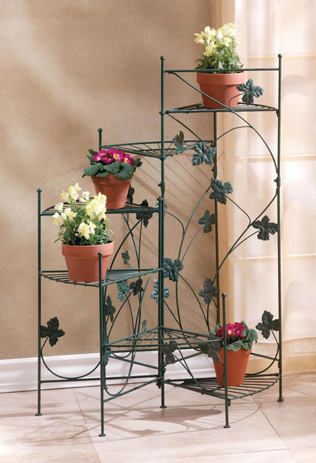 Ivy Design Iron Staircase Plant Stand