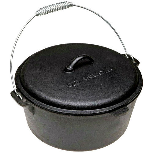 Old Mountain Cast Iron 8 Qt Dutch Oven with Dome Lid