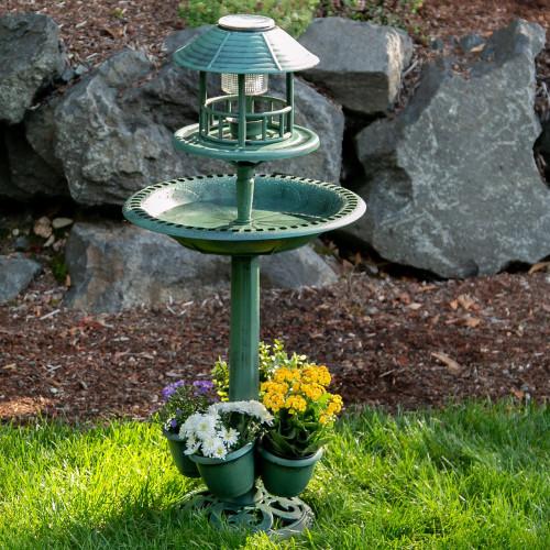 Verdigris Outdoor Garden Centerpiece