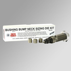 Bushing Bump Neck Sizing Die Kit