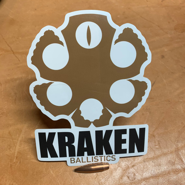 Kraken Vinyl Sticker