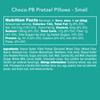 Choco-PB Pretzel Pillows