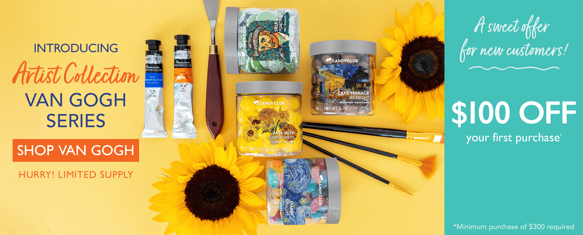 Introducing Artist Collections: Van Gogh Series. Shop Van Gogh. Hurry! Limited Supply.