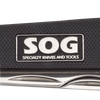 SOG Contractor III Folding Knife EL30-CP : Satin Plain Blade, G10 Handles