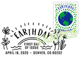 Earth Day Pictorial Postmark