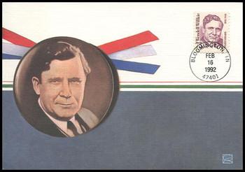 2192 / 75c Wendell Willkie : Great Americans Series 1992 Fleetwood Maximum Card