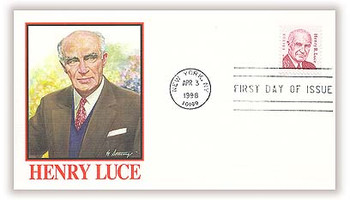 2935 / 32c Henry R. Luce - Editor : Great Americans Series 1998 Fleetwood FDC