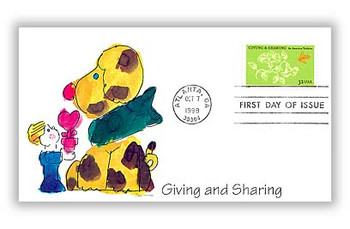 3243 / 32c Philanthropy Giving & Sharing 1998 Fleetwood FDC