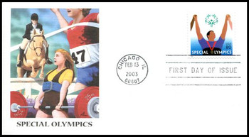 3771 / 80c Special Olympics 2003 Fleetwood First Day Cover