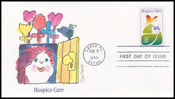 3276 / 33c Hospice Care 1999 Fleetwood First Day Cover