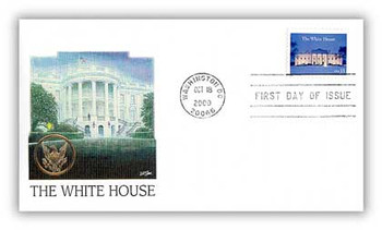 3445 / 33c The White House 2000 Fleetwood First Day Cover