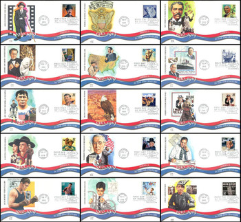 3183a-o / 32c Celebrate The Century ( CTC ) 1910s Set of 15 Fleetwood 1998 First Day Covers