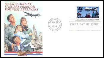 3211 / 32c Berlin Airlift : 50th Anniversary 1998 Fleetwood First Day Cover