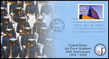 3838 / 37c United States Air Force Academy PSA 2004 Fleetwood FDC