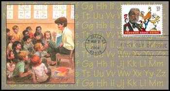 3835 / 37c Theodore Seuss Giesel : Dr. Seuss 2004 Fleetwood FDC