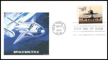 3262 / $11.75 Space Shuttle - 747 Piggyback Express Mail 1998 Fleetwood FDC