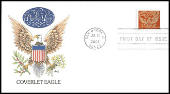 3646 / 60c Coverlet Eagle PSA 2002 Fleetwood First Day Cover