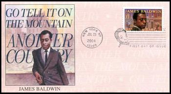 3871 / 37c James Baldwin - Writer PSA : Literary Series 2004 Fleetwood FDC