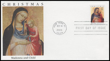 3879 / 37c Madonna and Child PSA : Christmas Series 2004 Fleetwood FDC