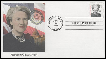 3427 / 58c Margaret Chase Smith : Distinguished Americans Series 2007 Fleetwood FDC
