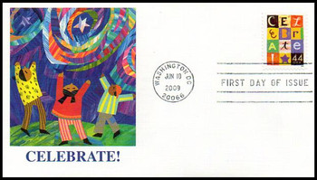 4407 / 44c Celebrate! 2009 Fleetwood First Day Cover