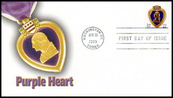 4390 / 44c Purple Heart Fleetwood 2009 First Day Cover