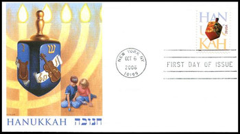 4118 / 39c Hanukkah : Holiday Celebration Series Fleetwood 2006 FDC
