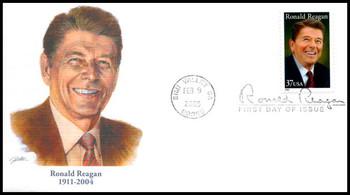 3897 / 37c Ronald Reagan Fleetwood 2005 FDC