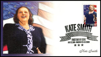 4463 / 44c Kate Smith Fleetwood 2010 First Day Cover