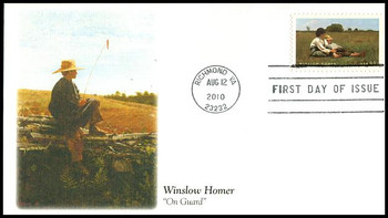 4473 / 44c Winslow Homer : American Treasures Series Fleetwood 2010 First Day Cover
