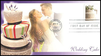 4521 / 64c Wedding Cake 2011 Fleetwood First Day Cover