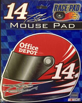 Tony Stewart Nascar Helmet Race-Pad Collectible Mouse Pad / Mat