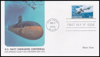 3372 / 33c U.S. Navy Submarine Centennial 2000 Fleetwood FDC