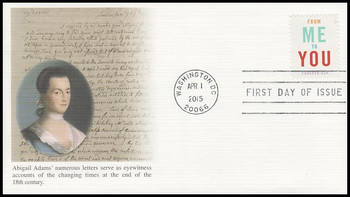 4978 / 49c From Me To You 2015 Fleetwood First Day Cover