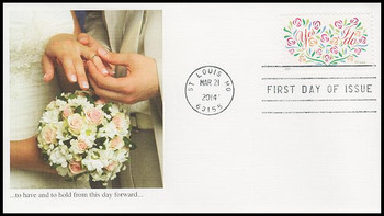 4881 / 70c Yes I Do 2014 Fleetwood First Day Cover