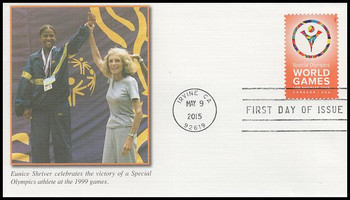 4986 / 49c Special Olympics World Games 2015 Fleetwood First Day Cover