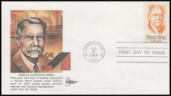 2095 / 20c Horace Moses Gill Craft 1984 First Day Cover