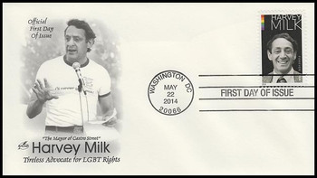 4906 / 49c Harvey Milk 2014 Artcraft First Day Cover