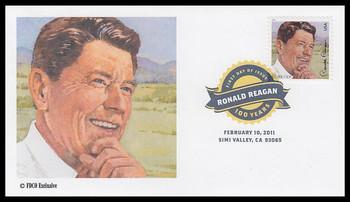 4494 / 44c Ronald Reagan Digital Color Postmark ( DCP ) 2011 FDCO Exclusive FDC
