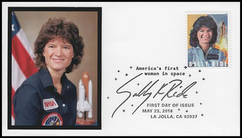 5283 / 50c Sally Ride :  First American Woman In Space FDCO Exclusive 2018 First Day Cover #1