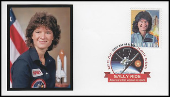 5283 / 50c Sally Ride : First American Woman In Space Digital Color Postmark FDCO Exclusive 2018 FDC #2