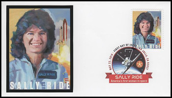 5283 / 50c Sally Ride : First American Woman In Space Digital Color Postmark FDCO Exclusive 2018 FDC #4