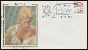 Kim Novak : ASDA Tribute To Movie Stars Colorano Silk 1985 Event Cover