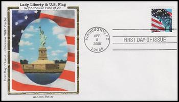 3978 / 39c Statue of Liberty and Flag PSA APU Colorano Silk 2006 FDC