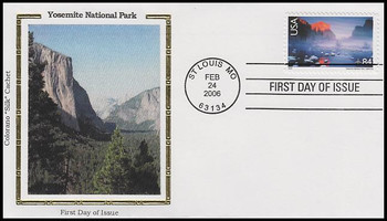 C141 / 84c Yosemite National Park Airmail 2006 Colorano Silk FDC