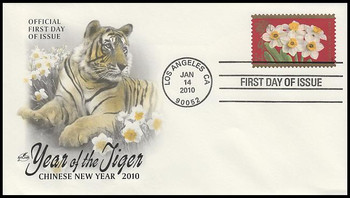 4435 / 44c Year of the Tiger : Chinese Lunar New Year Artcraft 2010 First Day Cover