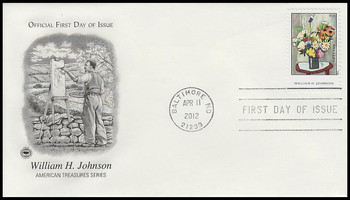 4653 / 45c William H. Johnson : American Treasures Series 2012 PCS FDC